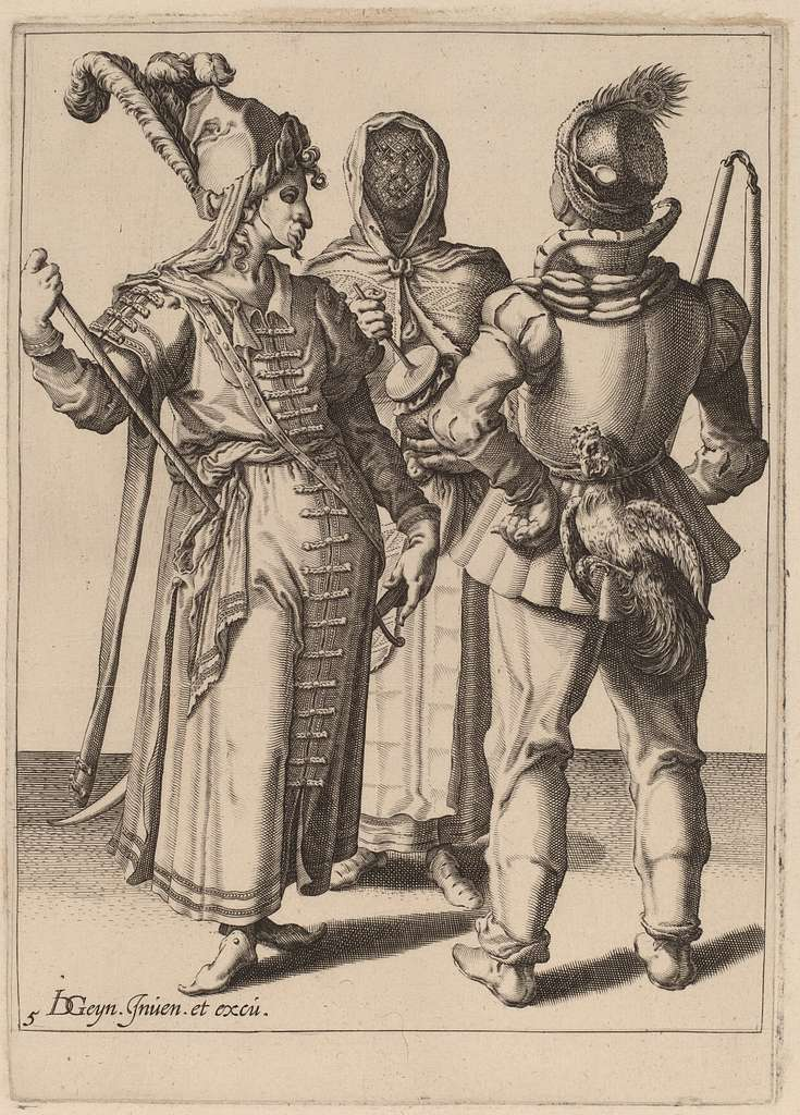 A Grandee, a Peasant, and a Veiled Woman