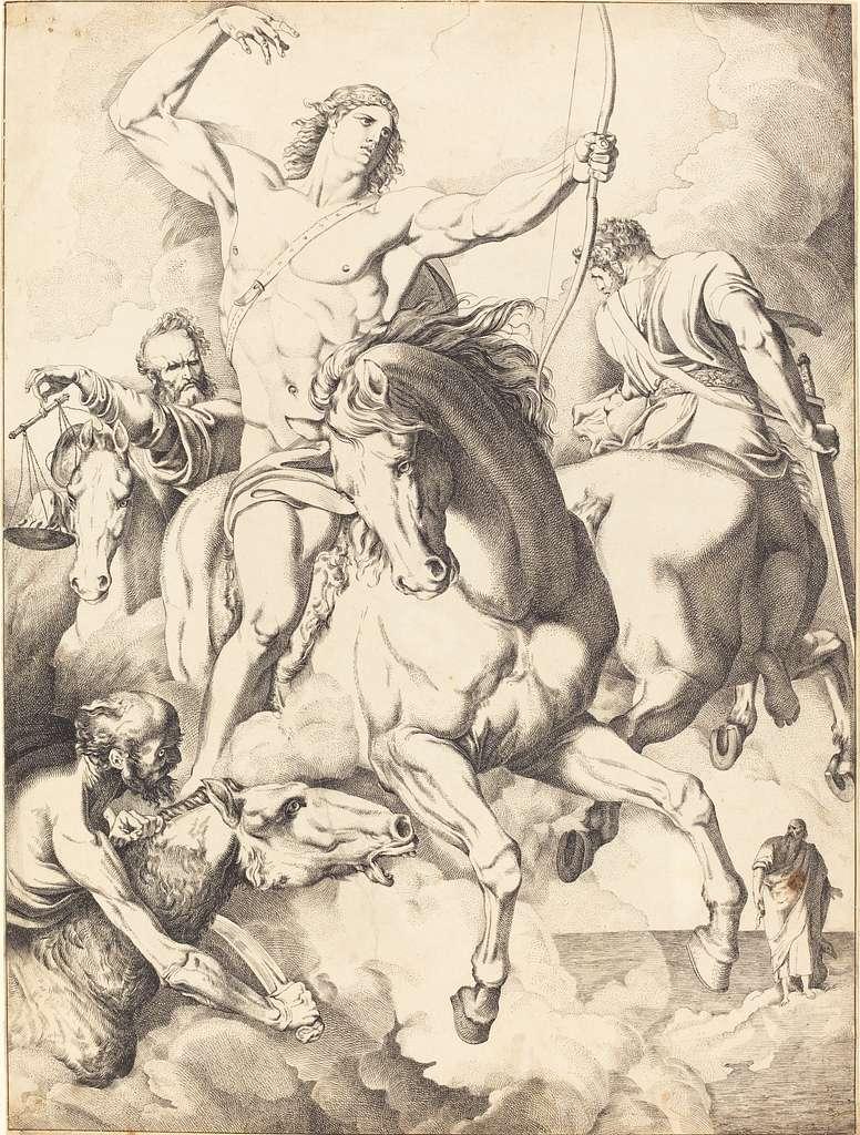 Vidi, quod aperuisset agnus.. (The Four Horsemen of the Apocalypse)