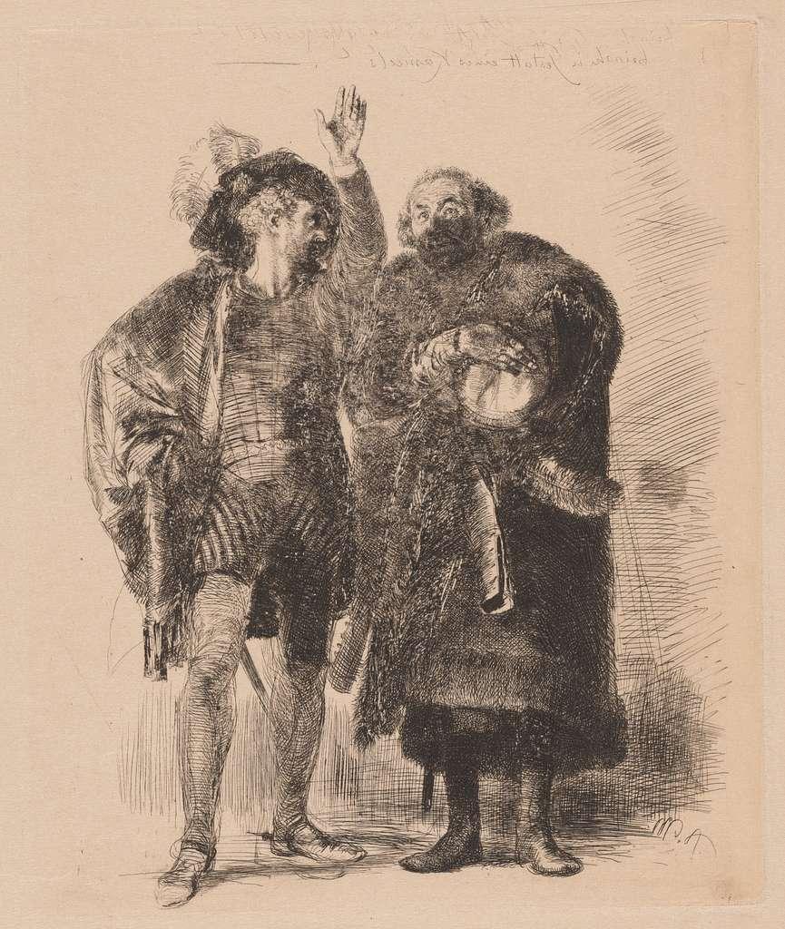 Hamlet and Polonius